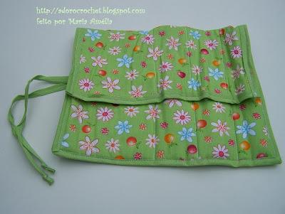 Porta talher individual de tecido