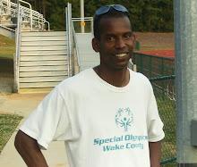 Hurdles Coach Steve McGill