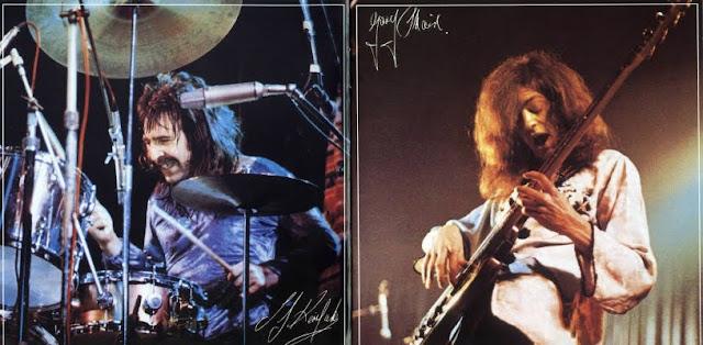 Uriah Heep ~ 1973 ~ Live inlay