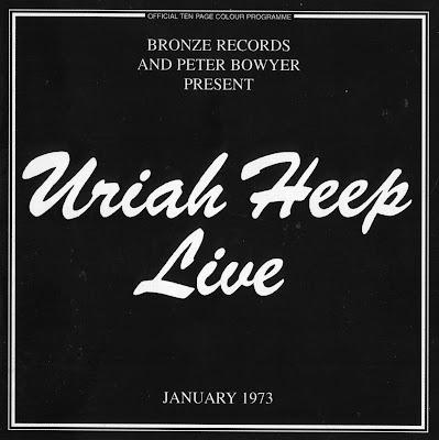 Uriah Heep ~ 1973 ~ Live