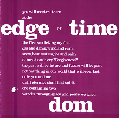 Dom ~ 1972 ~ Edge Of Time