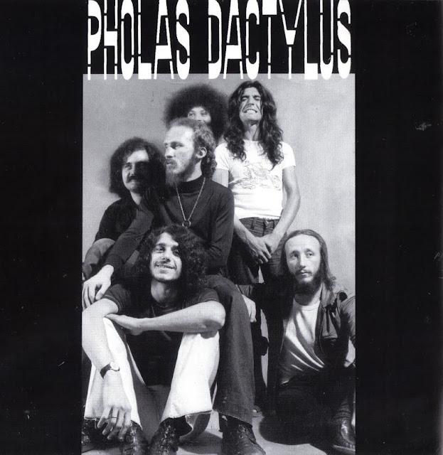 Pholas Dactylus ~ 1973 ~ Concerto Delle Menti inner