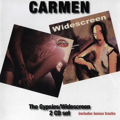 old progressive Carmen ~ 1976 ~ The Gypsies + David Allen ~ 2007 ~ Widescreen