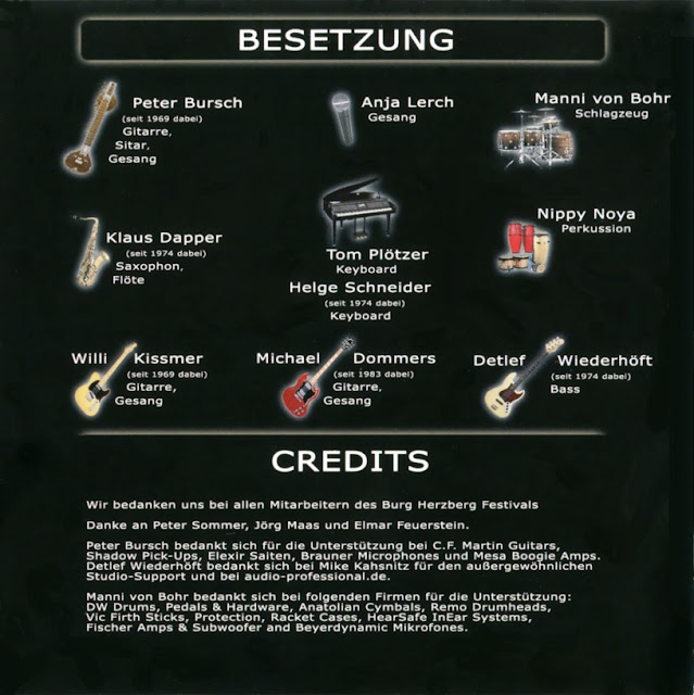 Bröselmaschine - 2008 - Live credits