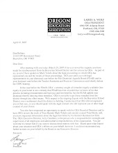 Former OEA President Larry Wolf denial of illegal civil suit filed by OEA atty Tom Doyle
