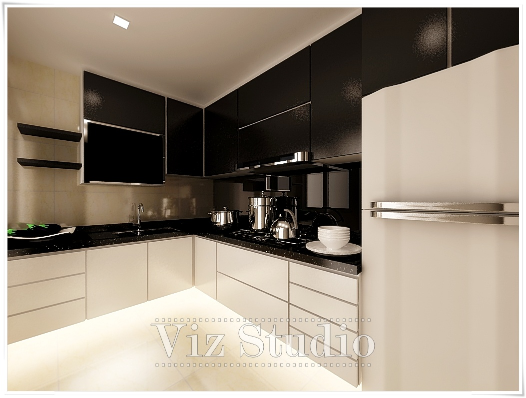 Viz studio 3d visualiser for interior design for Kitchen design visualiser