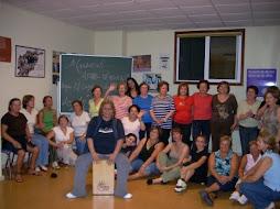 nuestro taller Psicoterapia a través de la danza