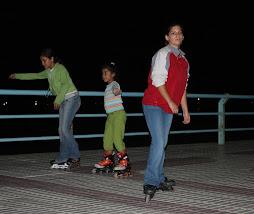 patinadoras con estilo propio