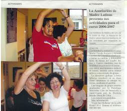 taller de danza y presentación actividades