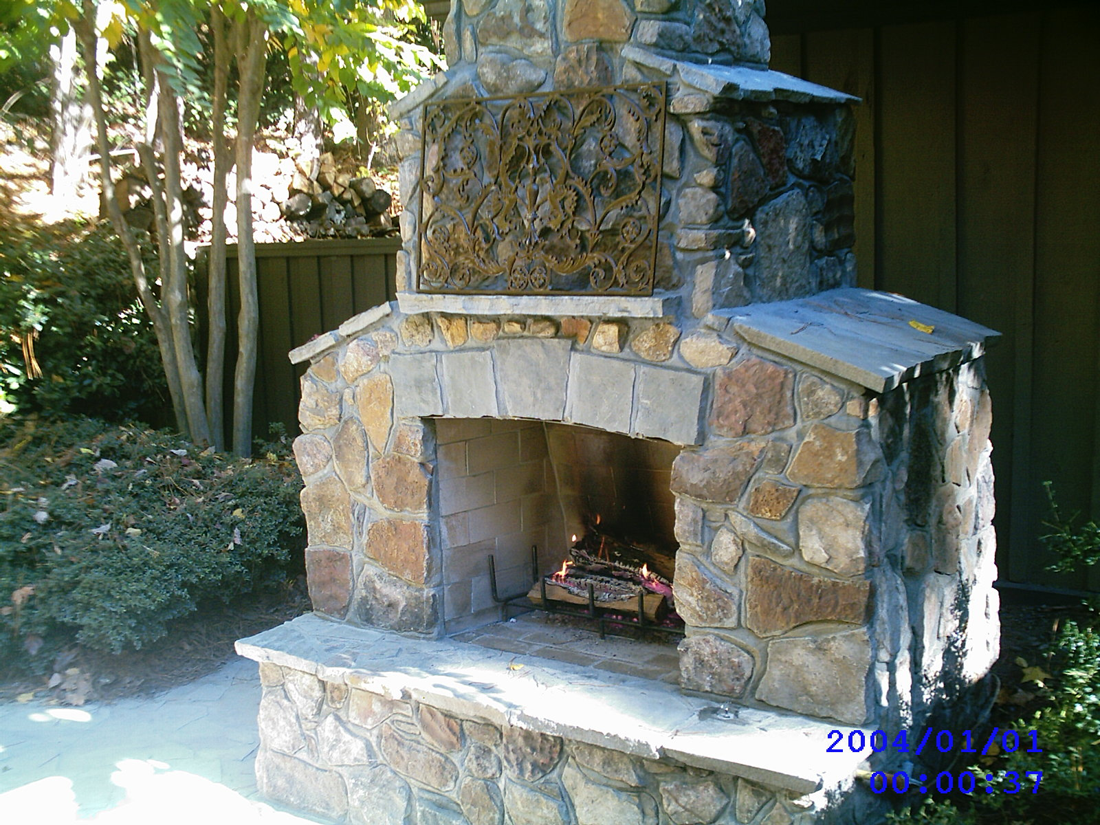 outdoor fireplaces arizona fireplaces backyard fireplace plans