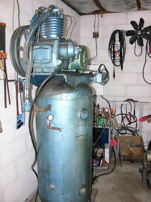 57 Chevy Kellogg American Vintage Air Compressor