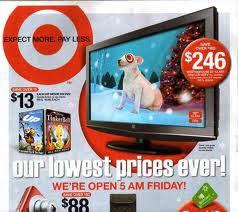 In Black Friday shopping website offers lots of online discount ads, coupons, promo codes and deals to attract customers. Check out Target's 2010 Ads, Coupons & Deals Prediction.