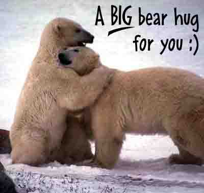 bear hug