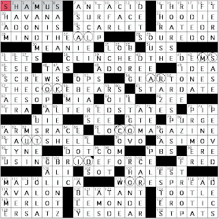 nature essayist crossword clue