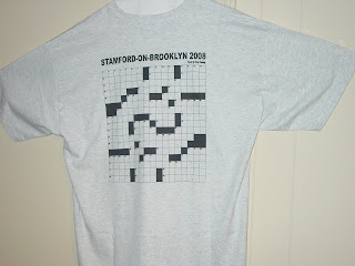 Vic Flemings I Swear Enterprises Is Offering Ash Gray Hanes Beefy T Shirts Featuring Vics Stamford On Brooklyn 2008 Crossword Clues The Front