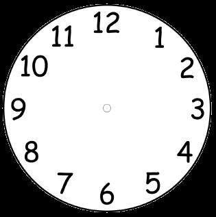 Clock Face Template Printable. Printable Clock Face Selection Free ...