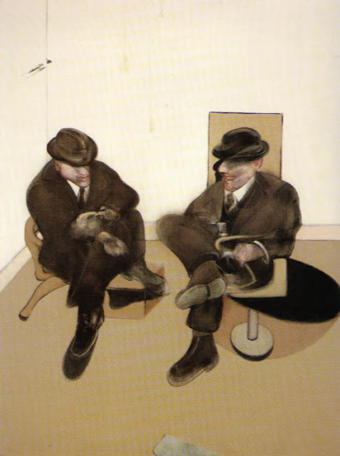 Francis Bacon, 'Two Seated Figures' 1979