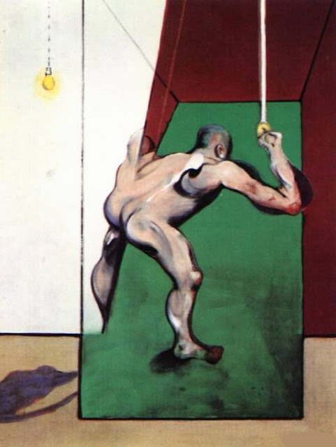 Francis Bacon, 'Man Turning on the Light' 1973-74'.