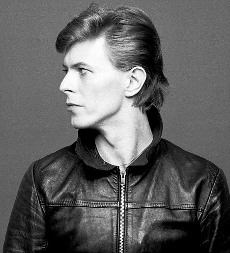 David Bowie, 'Heroes' photoshoot, 1977
