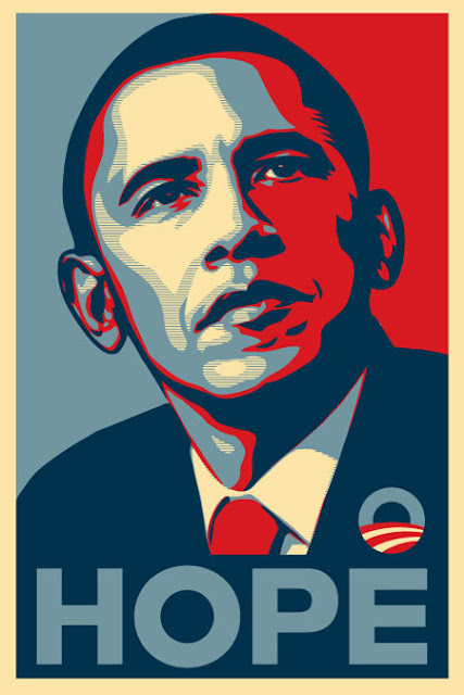 Barack Obama. Hope.