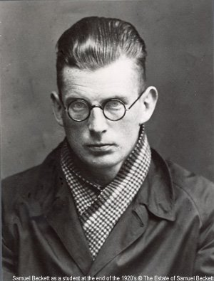 Photograph of a young Samuel Beckett.