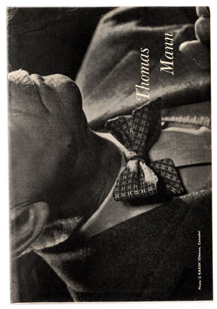 Pre-owned bookmark featuring author Thomas Mann