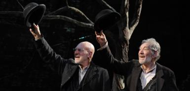 Patrick Stewart and Ian McKellen in Samuel Beckett's 'Waiting for Godot' 2009