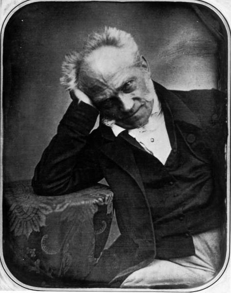Portrait of Arthur Schopenhauer (1788-1860), German philosopher, taken in 1855.