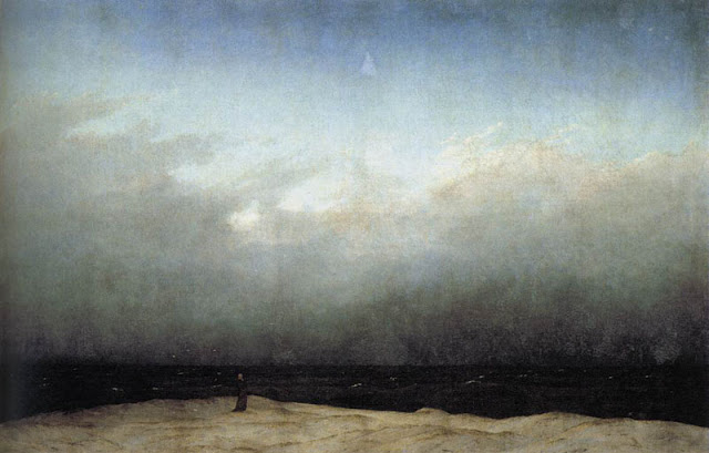 Caspar David Friedrich, 'Monk by the Sea' (1809-10)