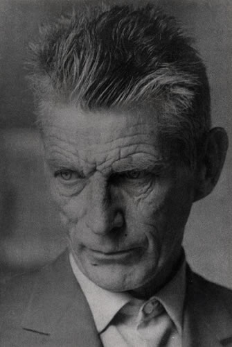 Samuel Beckett. Photograph by Guy Suignard