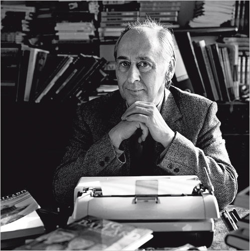 JG Ballard, in 1989. Photograph: David Montgomery/Getty Images