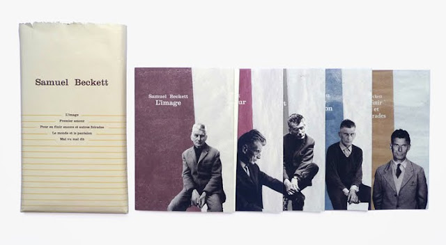French editions of Samuel Beckett. Design: Atelier 25.