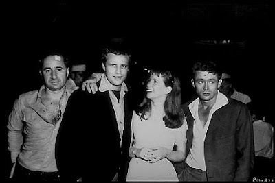Actor's studio: Elia Kazan, Marlon Brando, Julie Harris y James   Dean