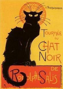 Le chat noir de Alexandre Steinlein