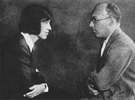 Lotte Lenya y Kurt Weill en 1929