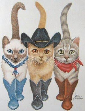Cowboy cats