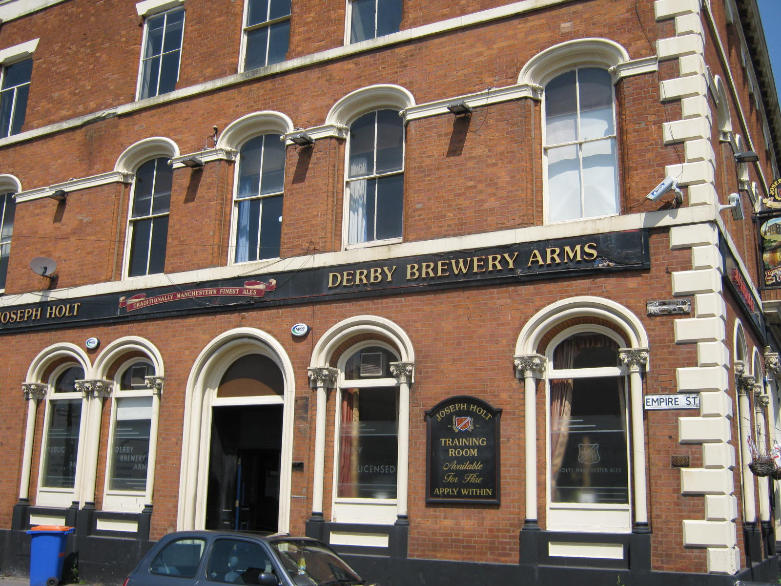 Pubs of Manchester: 076. Derby Brewery Arms, Cheetham Hill Road