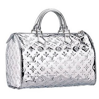Louis Vuitton Miroir Silver Speedy