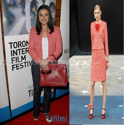 Preity Zinta Chanel 08p jacket Toronto International Film Festival