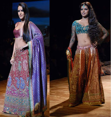 Neha Dhupia Ritu Kumar India Couture Week