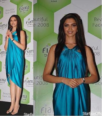 Deepika Padukone Beautiful Face 2008 Fiama di Willis
