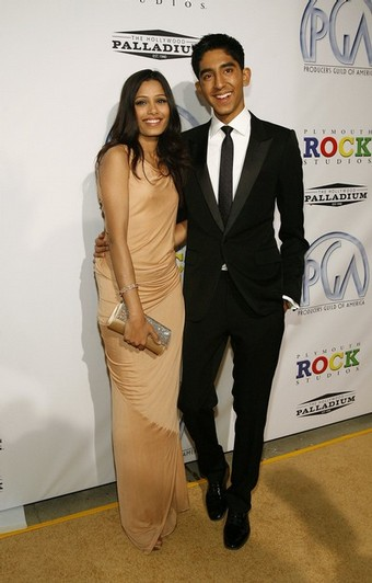 Freida Pinto Dev Patel Producers Guild Awards
