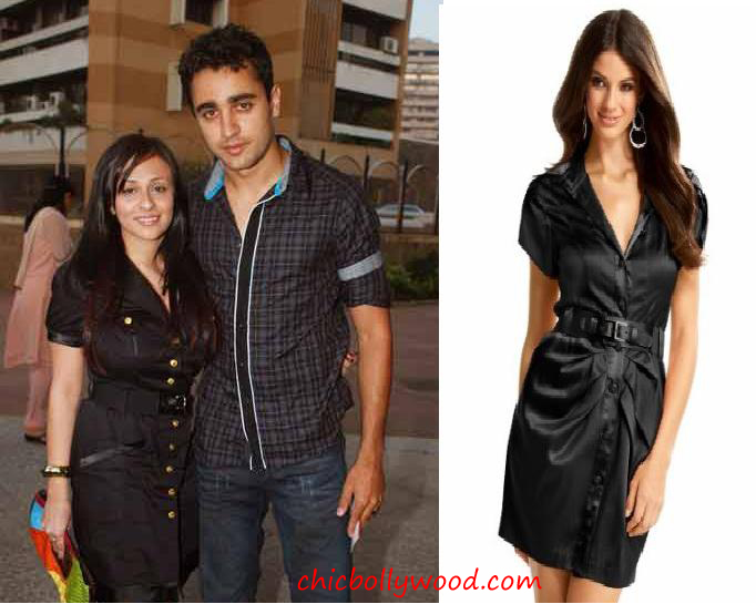 Imran Khan girlfriend Avantika Malik Bebe black dress