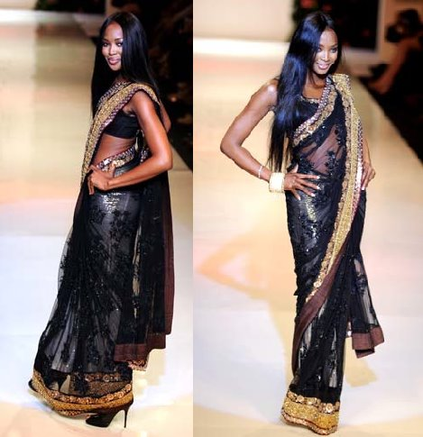 Naomi Campbell Vikram Chatwal Mai Mumbai Lakme Fashion Week