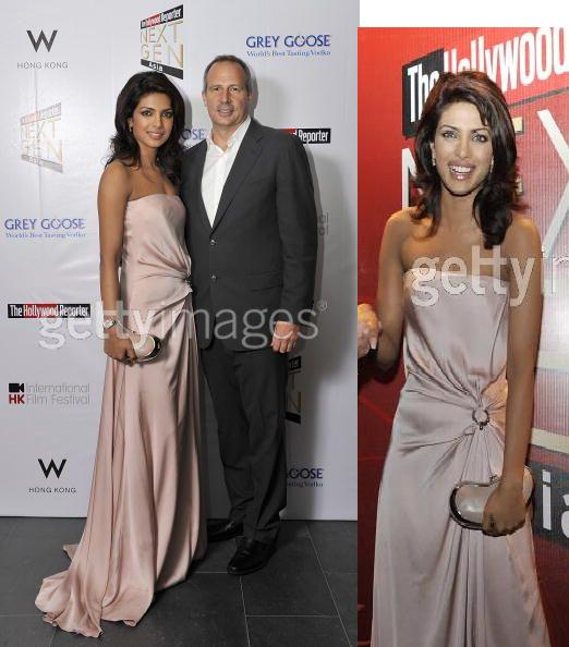 Priyanka Chopra Next Gen Asia Launch reception Salvatore Ferragamo pink gown