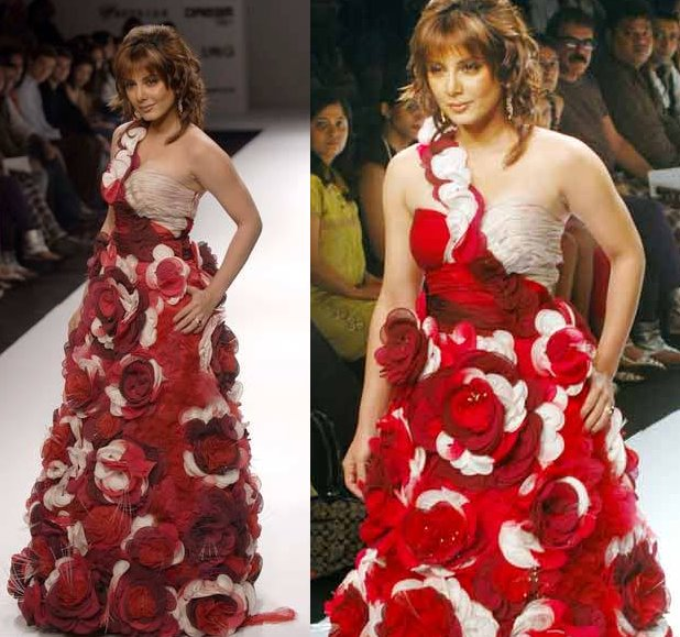 Minissha Lamba Lakme Fashion Week Archana Kochhar