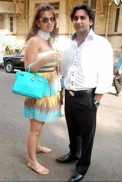Natasha Poonwala Laila Mallya Birthday