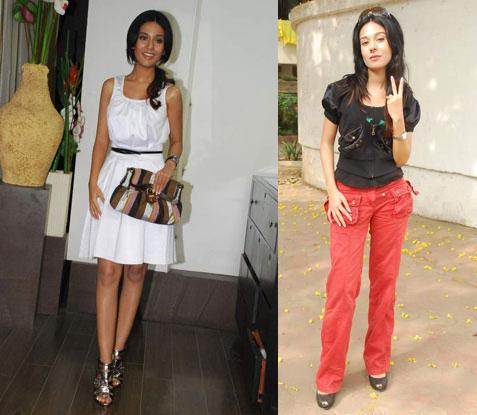 Amrita Rao Amara store Elections 09 Mumbai