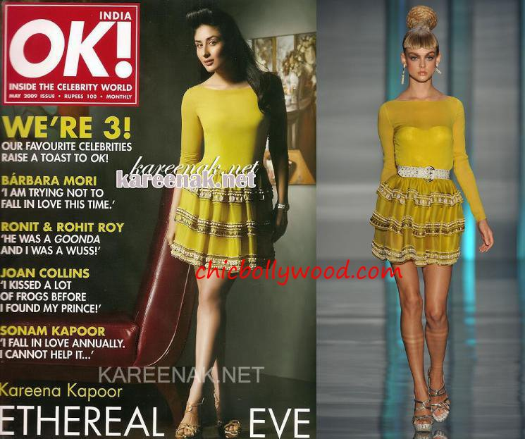 Kareena Kapoor Ok Magazine May 09 Christian Dior