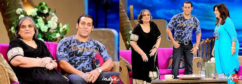 Salman Khan Being Human Farah Khan show